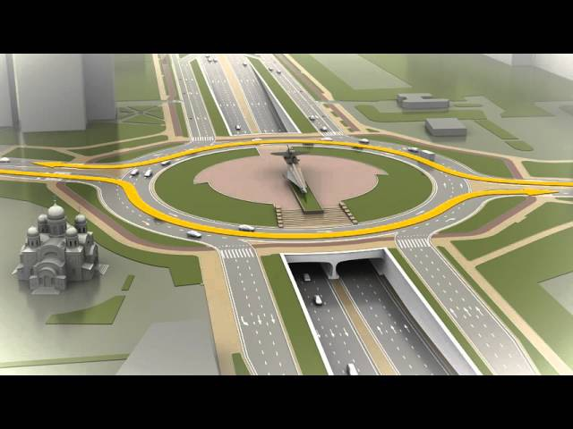 Проект реконструкции Московского шоссе к ЧМ 2018 г.Самара