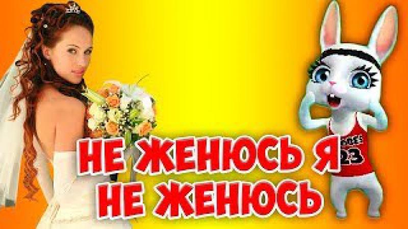 Не женюсь я не женюсь! Прикольная заводная песенка переделка ZOOBE Муз Зайка