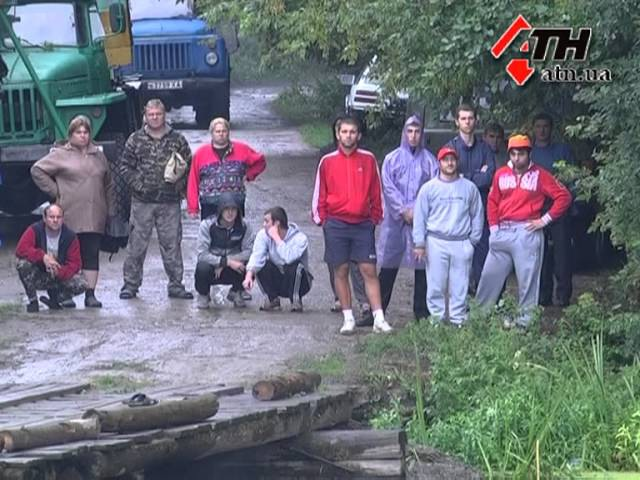 25.07.13 - Только после трех смертей старый мост возле Фигуровки перекрыли