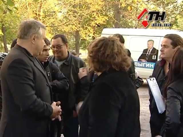 Провокаторы требовали денег от Салыгина ч3