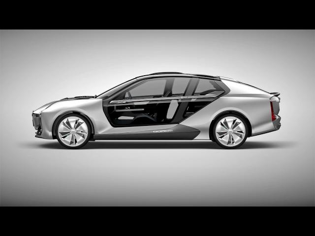 Qoros Model K EV 04 2017