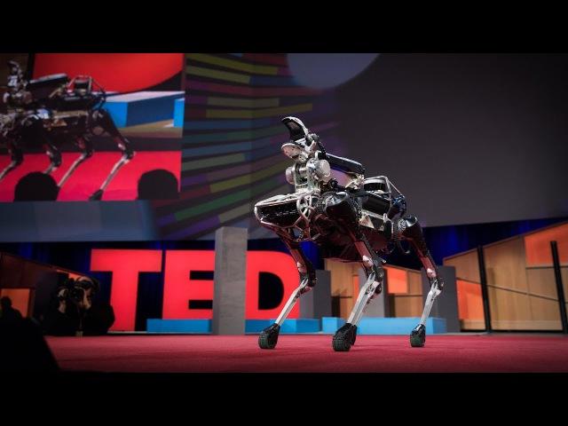 Meet Spot, the robot dog that can run, hop and open doors | Marc Raibert