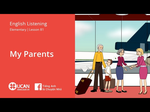 Learn English Listening | Elementary - Lesson 81. My Parents