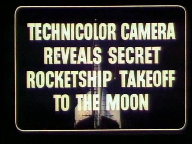 Destination Moon 1950 Movie Trailer