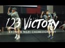 123 Victory Kirk Franklin ft Pharrell Keone Mari Choreography Summer Jam Dance Camp 2017