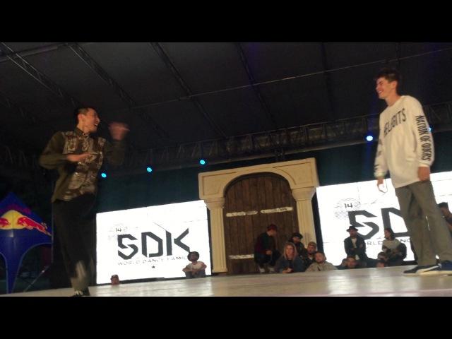 POPPING | FINAL | DAI vs BERRY WHITE | SDK EUROPE 2017 | Danceproject.info