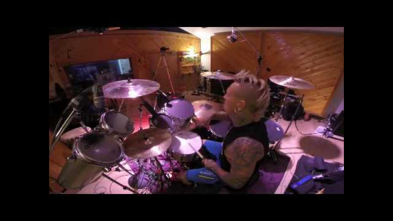 Jeremy Colson Drum Cam-Obsidian Trevor Hall drum cover