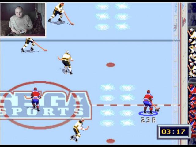 Sega Mega Drive 2 NHL All Star Hockey '95 Вячеслав