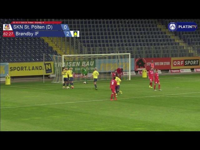 05.10.17 SKN St. Pölten - Brøndby IF - 0:2 - Zusammenfassung am 05.10.2016 22:26