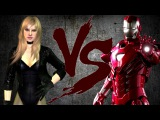 ЧЁРНАЯ КАНАРЕЙКА против ЖЕЛЕЗНОГО ЧЕЛОВЕКА | BLACK CANARY vs IRON MAN [CT Fight Club | DC | Marvel]