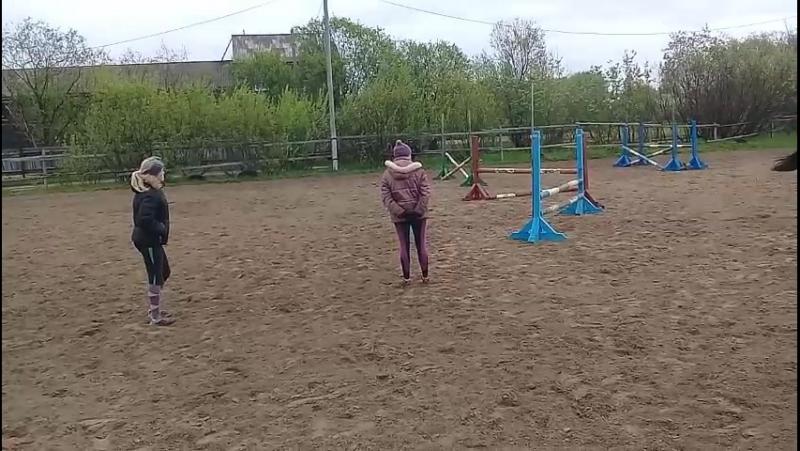 тренировка с Ольгой Сергеевной и Марией Сергеевной.  21.06.2017