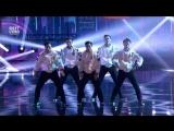 Корейская танцевальная группа на шоу талантов