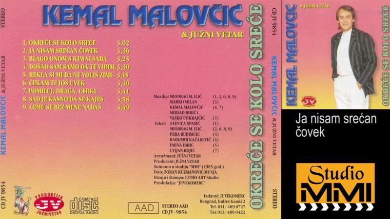 Kemal Malovcic Juzni Vetar - Ja nisam srecan covek - (Audio 1985)