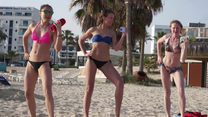 GAF_travel dancing on the beach