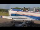 Первый полет на самолёте як-52