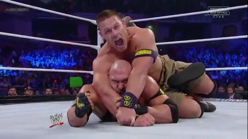 [WWE QTV]☆[Survivor Series 2012][CM Punk vs John Cena vs Ryback]/The Shield[☆[См Панк(с) про Джона Сины про Райбек/Щит]