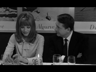 Нежная кожа / La peau douce / 1964. Режиссер: Франсуа Трюффо.
