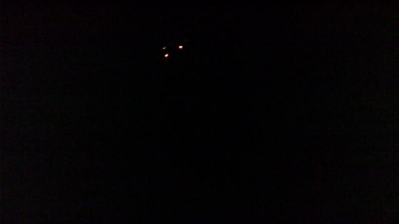 Уралы 25-е, мидрейндж AS-DB250B на расстоянии ~ 50 метров