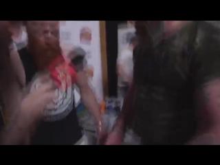 Ух, ты! Бородачи и Сергей Бадюк. Армлифтинг. Посвящение бородачей