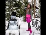 Хулиган снеговик