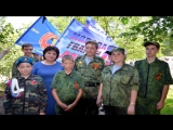 Молодая Гвардия Донбасса на открытии памятника Мирным жителям г. Горловки погибшим в результате агрессии киевской хунты в 2014 2