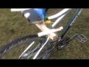 димавуха vs велосипед ,дрифт на скутере