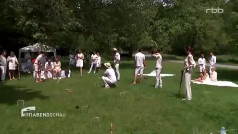 Le Déjeuner sur l'herbe et la partie de croquet 2017