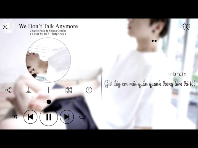 [VIETSUBKARA] BTS Jungkook - We Don't Talk Anymore (Cover)