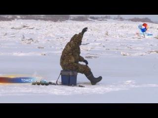 Спасатели: выходить на лед Томи еще опасно