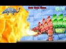 Dino Robot Knight Ankylo - Fire-breathing dragon Dino Robot Game