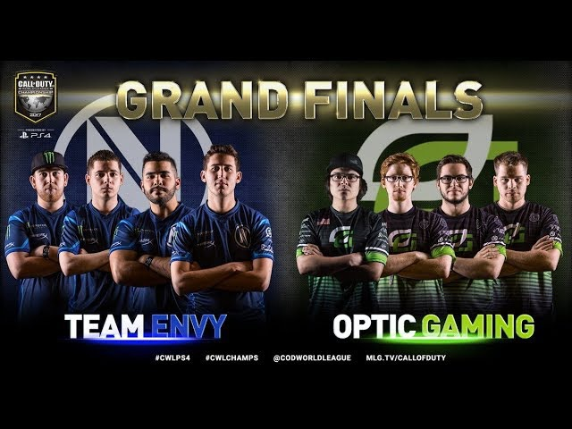 Team EnVyUs vs OpTic Gaming Grand Finals Bo5 2 CWL Championship 2017