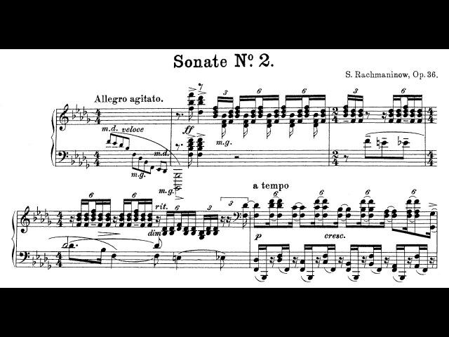 Rachmaninoff Piano Sonata No 2 Op 36 Lugansky Kocsis
