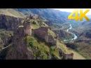 Tmogvi Fortress / თმოგვის ციხე / Крепость Тмогви - 4K aerial video footage DJI Inspire 1