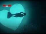 #Дайвер'ы без аквалангов нырнули в валентинку. #Real #Video