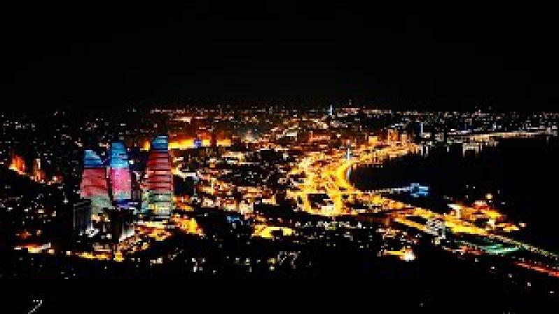 баку | кухня | ужин на самой высокой точке в Баку | телевышка | VLOG 24
