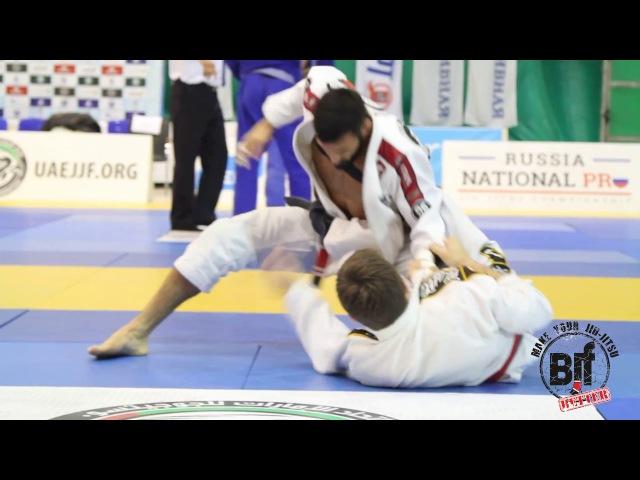 Daniel Mendonca vs Pavel Fedorov pusPRO16 black brown belts Russian National jiu jitsu Pro uaejjf