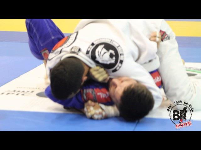 Daniel Mendonca vs Evgeny Chmutov pusPRO16 black brown belts Russian National jiu jitsu Pro uaejjf