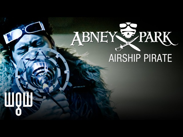 Whitby Goth Weekend - Abney Park - 'Airship Pirate' Live