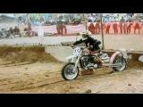 Nitro harley hillclimb bad crash Paul Kops