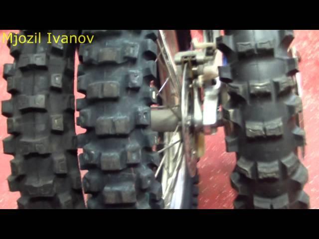 Будни в гараже №5 различие покрышек в мотокроссе, эндуро и других видов внедорожного спорта