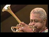 Dizzy Gillespie and B.B. King sing and play together BABY I'M HARD OF HEARING MAMA