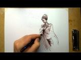 Женская фигура: как делать быстрые наброски и улучшать технику рисунка