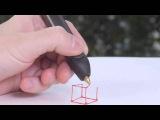 3д ручка плинтер оживляет рисунок