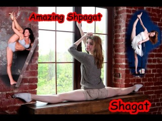 Contortion STRETCHING FLEXIBILITY | Super Flexible gymnastics , Yoga Challenge - Balancing