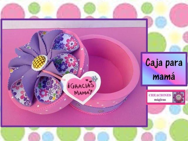 ♥♥Caja para chocolates♥Regalos para mamá♥♥Creaciones mágicas♥♥