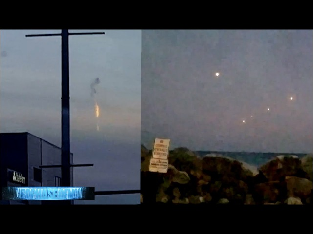 What In The WORLD? UFO Explodes Over Canada! MASS UFO Display Over Lake Michigan! 10/13/2016