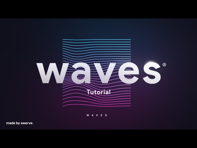 Photoshop Illustrator Tutorial | Waves by Swerve®