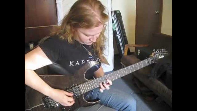 VTV12 - studio report - guitars
