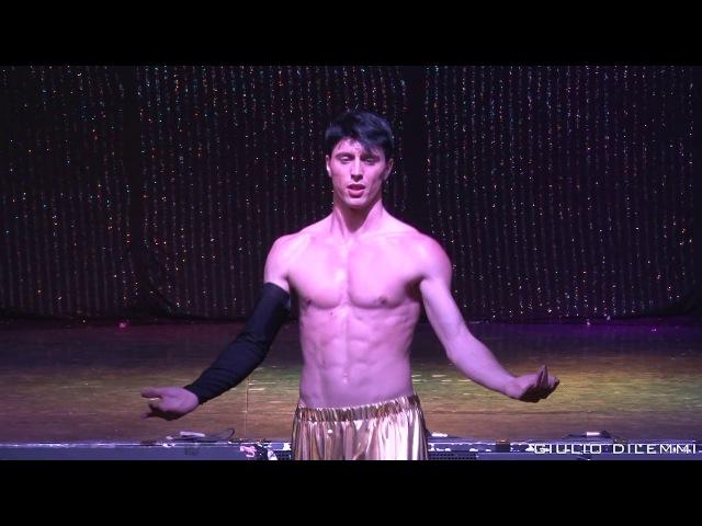 MALE BELLY DANCE - KARSHILAGALA DRUM SOLO - DESERT ROSE FESTIVAL EILAT
