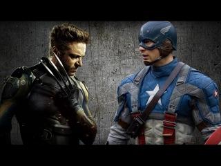 Росомаха vs Капитан Америка | Wolverine vs Captain America [Турнир 2016 | 1/8]